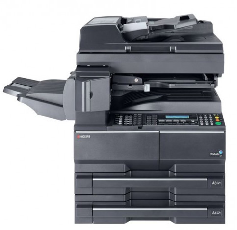 how to find serial number on kyocera printer